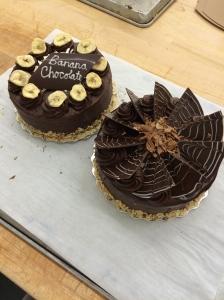 Banana Chocolate Torte